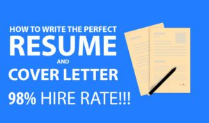 How to create cover letter and resume