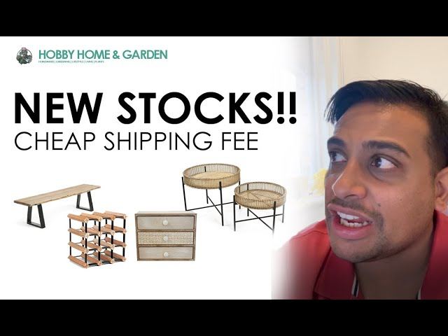 New stocks in hobby home and garden thumb